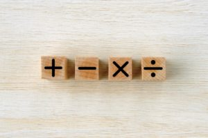 足し算・引き算・掛け算・割り算